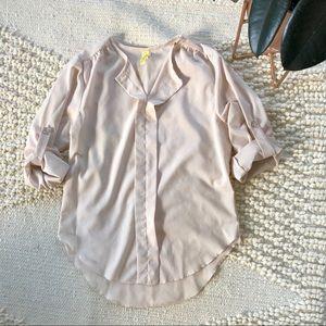 Cream Dress Blouse